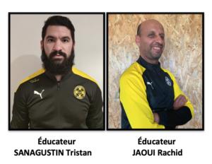 Éducateurs : SANAGUSTIN / JAOUI