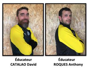 Éducateurs : CATALAO / ROQUES