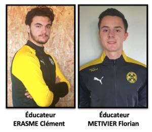 Éducateurs : ERASME / METIVIER